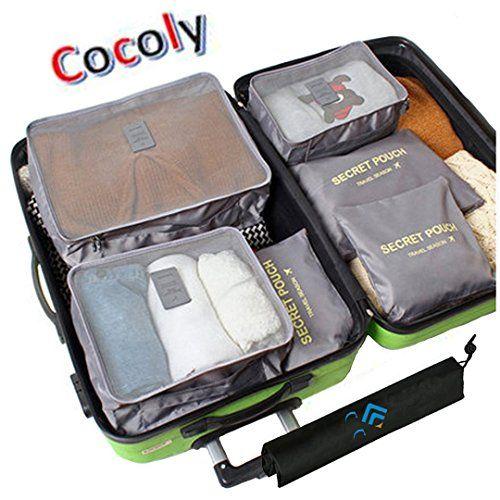 Cocoly 7pcs travel Organizers Packing Cubes Luggage Organ... http://www.amazon.com/dp/B01C52SOAS/ref=cm_sw_r_pi_dp_871uxb1D5QMY1