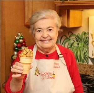 Cooking with Nonna - Italian Struffoli (honey balls) Recipe (Christmas holiday treat)