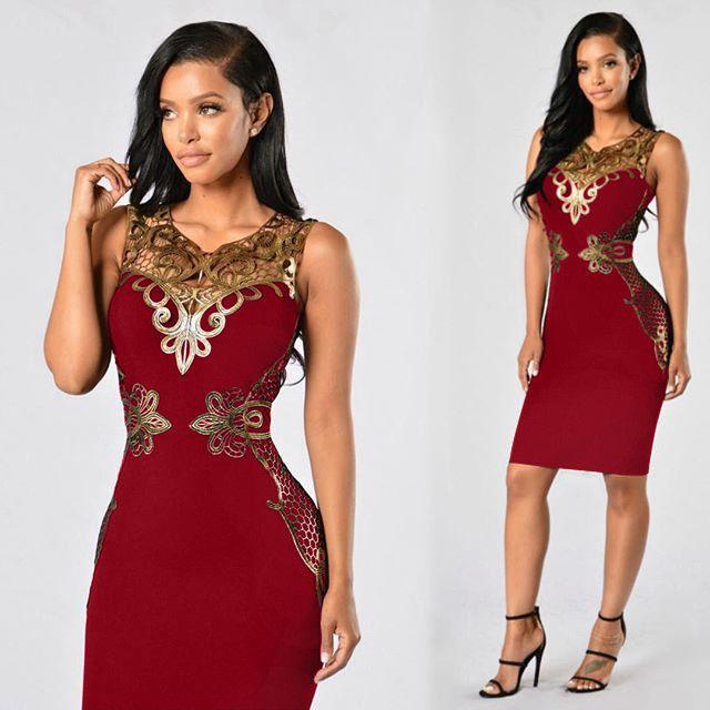 Bodycon Dresses Party Dress Plus Size Women Clothing Sexy Club Dresses