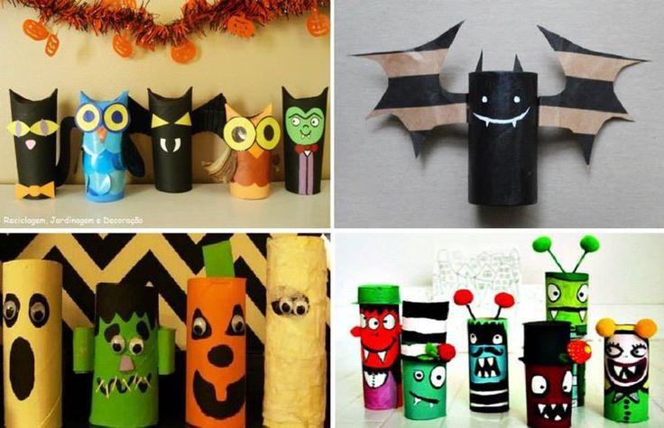 Papierowe dekoracje na Halloween