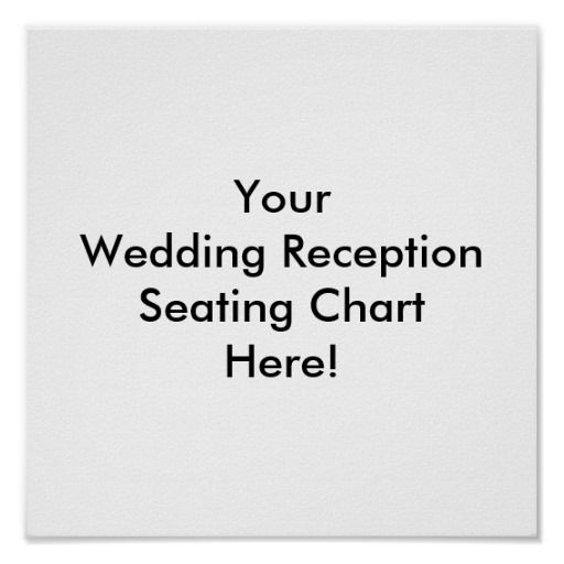 Best Wedding PosterSeating Chart Images On