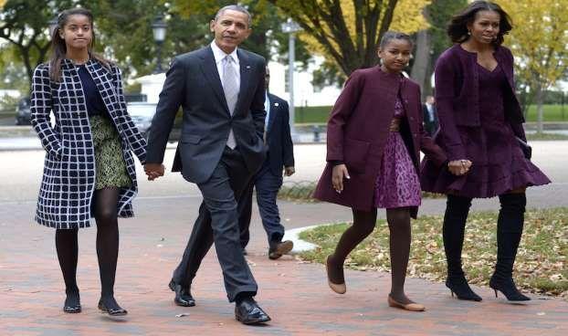 Zde je to, co je v nabídce Bílý dům Thanksgiving on - zajišťovaná Hill