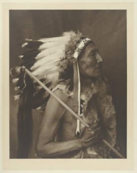Wabli Ho Waste (Pretty Voice Eagle), a Native American (Yankton Sioux) Chief, between 1908 - 1913