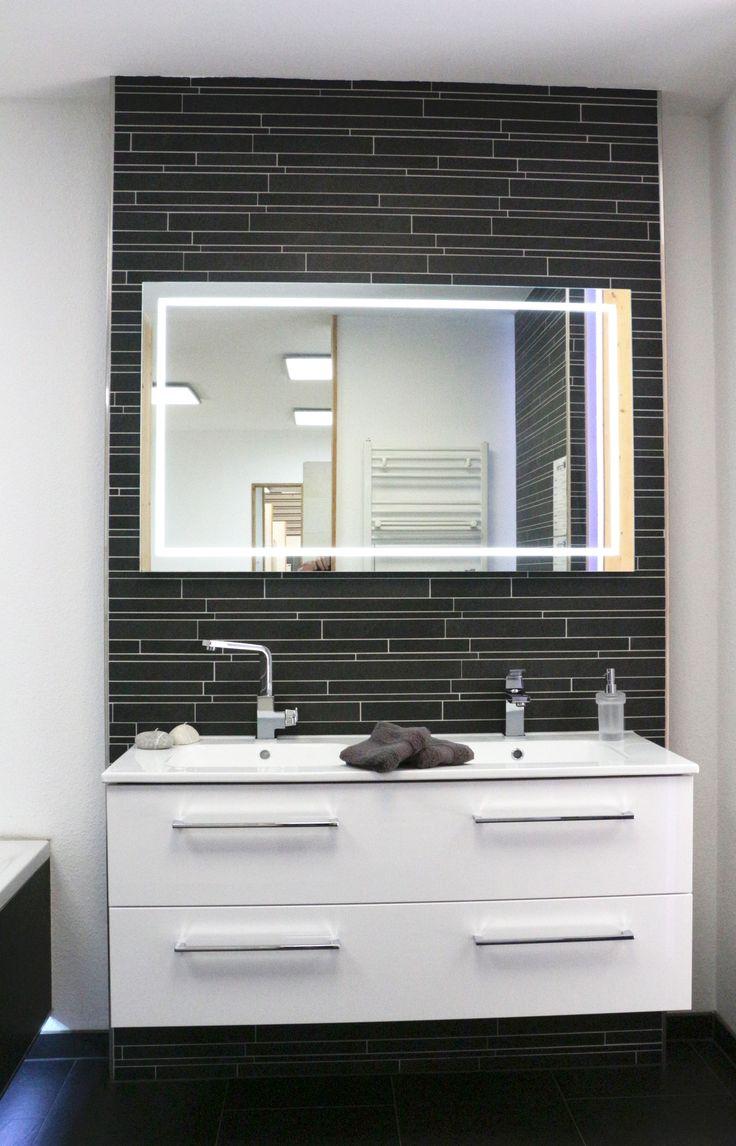 23 best fliesen im schwarz wei look images on pinterest bathroom ideas bathrooms decor and. Black Bedroom Furniture Sets. Home Design Ideas