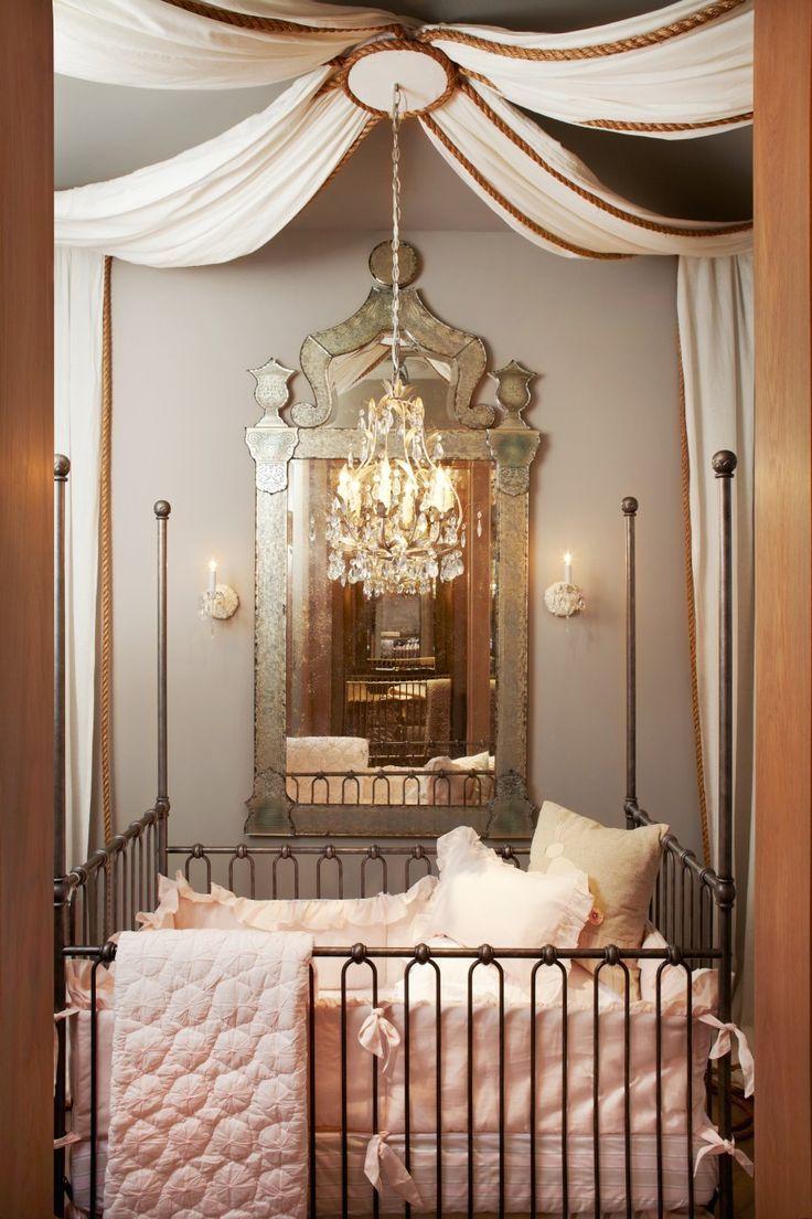 Beautiful nursery. ZsaZsa Bellagio – Like No Other: House Beautiful