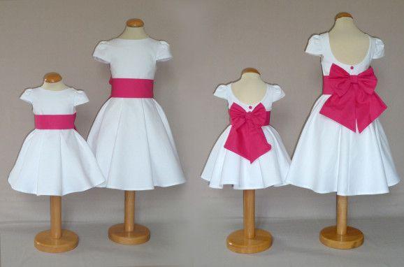 Ma robe de petite fille d'honneur!!! Avec d'autres couleurs
