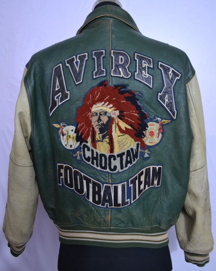 Avirex Leather Jacket (Vintage Brands Guru: Please visit our customise wholesale website for collection of vintage leather jacket. http://www.brandsguru.co.uk)