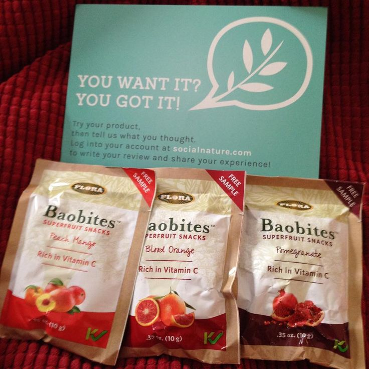 This was any first time trying baobites! They were delicious! I love dehydrated fruits and these have the same texture. Perfect for trail mix, smoothies, cereal or just by themselves.  I love how this snack is pack full of antioxidants and vitamin C.  These come in a variety of flavors. I really enjoyed pomegranate.  A delicious and nutritious tastey snack! #trynatural #baobites