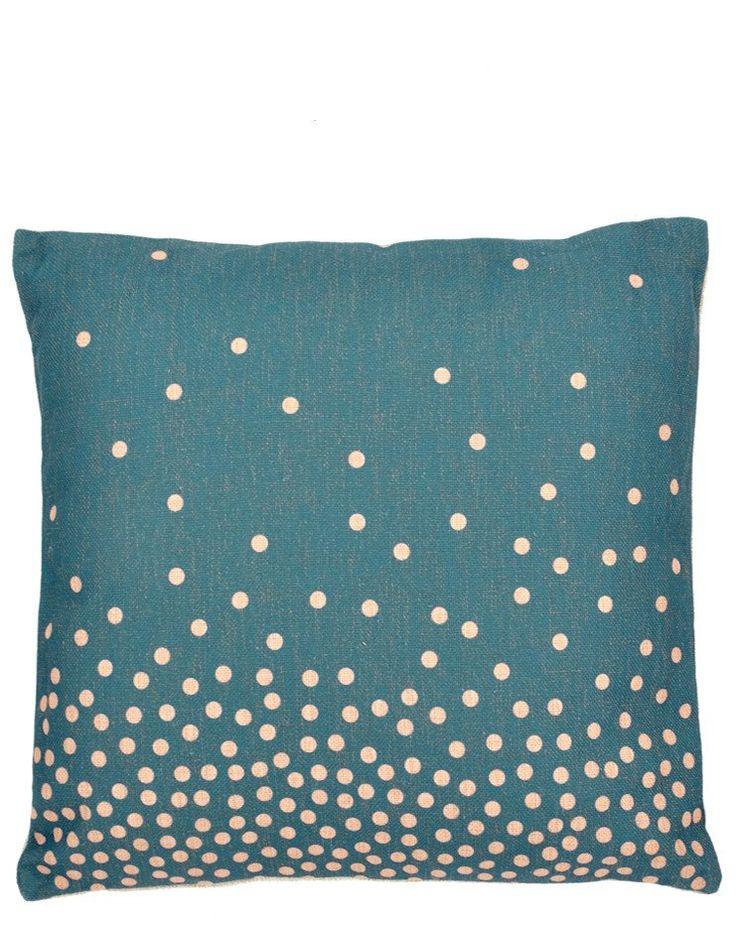 "Falling Dots Pillow, 18"""