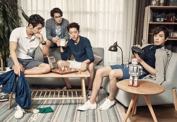 #THECLASS #CNBLUE BORN TO BE COOL