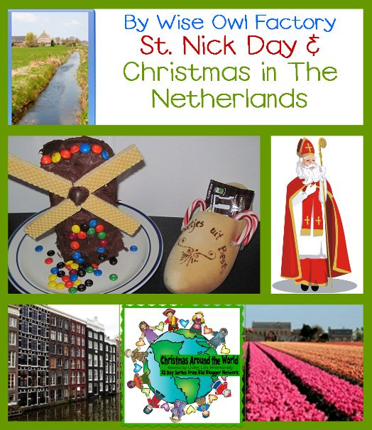 Christmas Around the World Blog Hop: The Netherlands