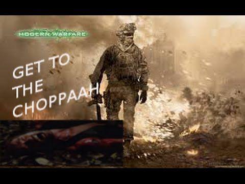 CoD MW2 Multiplayer Gameplay-GET TO THE CHOPPAH!