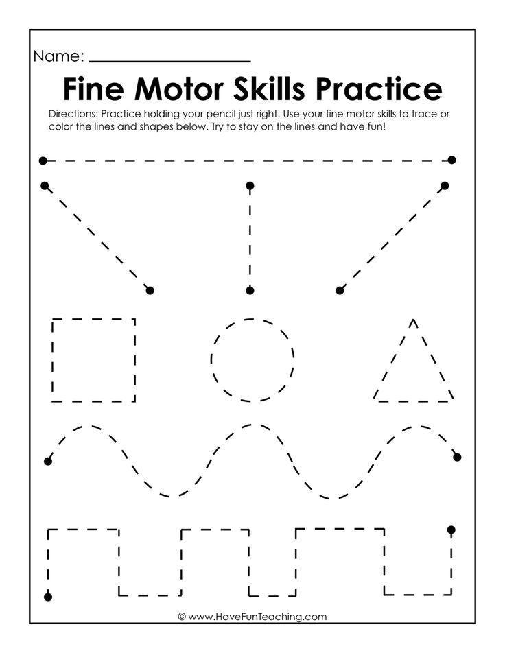 Fine Motor Skills Practice Worksheet Preschool Writing Tracing Worksheets Preschool Fine Motor Skills Tracing