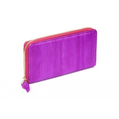 Makki Large Zip wallet - Hot pink