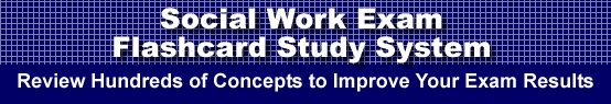 Social Work Exam Flashcard Study System is guaranteed to raise your ASWB test score