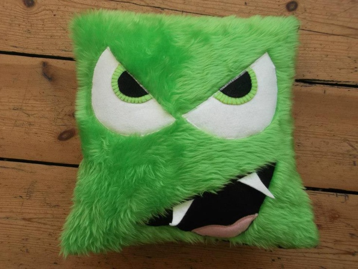 14 best images about monster cushions on pinterest for Furry craft