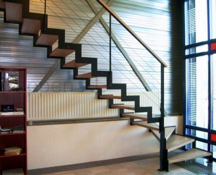 25 beste idee n over trap ontwerp op pinterest trappenhuis ontwerp trappen en haus - Ontwerp trap trap ...