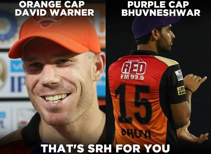 SunRisers Hyderabad and their star players David Warner and  Bhuvneshwar Kumar #IPL2017 For more cricket updates visit: http://ift.tt/2gY9BIZ - http://ift.tt/1ZZ3e4d