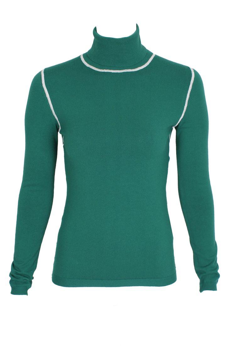 #pianurastudio #pianura #greenbird #marinamall #abudhabi #abudhabifashion #abudhabistyle #dubai #dubaifashion #dubaistyle #fashionista #womenswear #eveningwear #casualwear #fall2013 #winter2014 #turtleneck #green #greenturtleneck #seam
