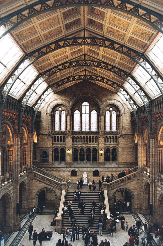 Natural History Museum London  Inspiring inside out; seeing the museum from outside for the first time stays with you forever. Learning about all aspects of nature makes you appreciate life itself.