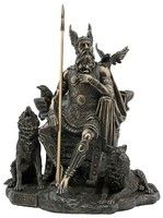 Odin. Norse God Veronese Bronze Figurine All Father Viking Vikings protection