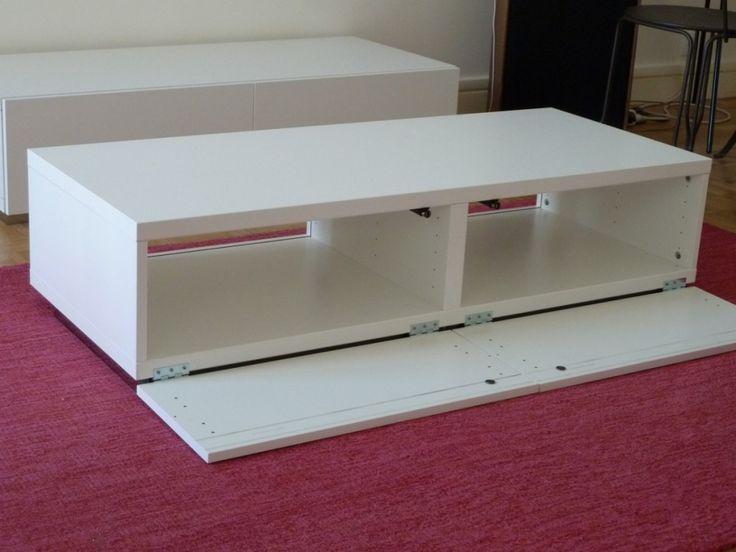 Meuble TV épuré et design DIY - Bidouilles IKEA