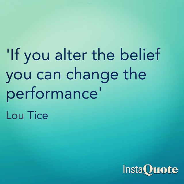 Wise words from Lou Tice #tpi | Quotes | Pinterest | Words ...