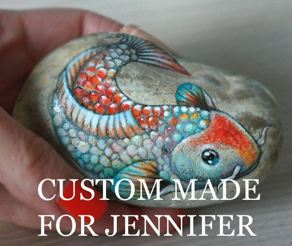 Custom made painted stones with names; family name art; home decor; talisman; totem; unique gift