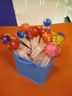 Pick Me Sticks, Mrs. Lee's Kindergarten: I'm Back with My First Week of Full Days Fun!