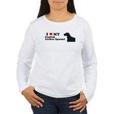 ENGLISH COCKER SPANIEL Womens Long Sleeve T-Shirt