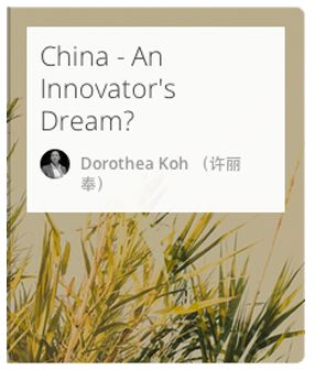 Discover the secrets of why China is booming for Innovators.   #Innovation #China