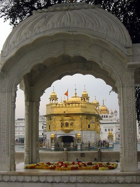The Golden Temple of Amritsar, Punjab, India (by Liz Highleyman).