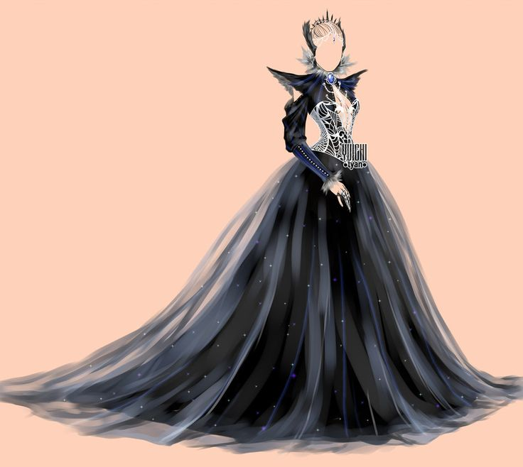 open  auction dark raven u0026 39 s dress adopt outfit by yuichi  clothing designs