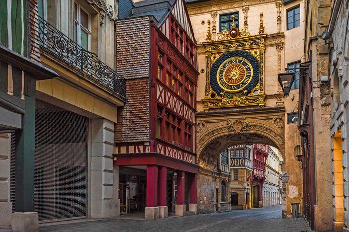 Where Is This Clock Rouen France Trip Trivia Trip Rouen Daily Trivia Questions