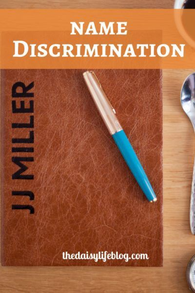 Name Discrimination is an issue that those with ethnic names deal with in their daily lives including in the workplace.