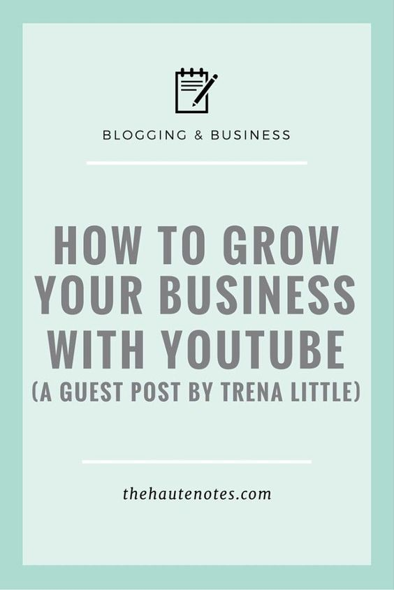 grow your business with youtube