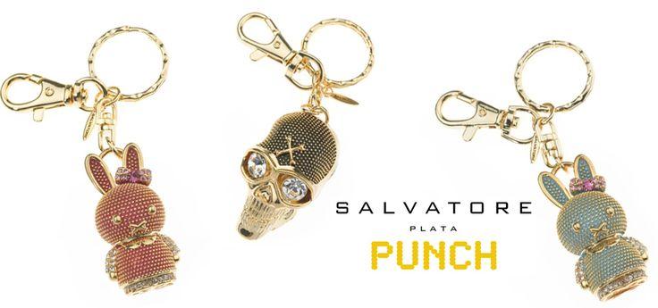 Nuestra colección de verano PUNCH, se completa con estos geniales llaveros ideales para llevar tus llaves o colgar en tu bolso.