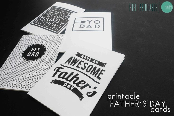 Free Printable Vintage Father's Day Card + Tag @mintedstrawberry.blogspot.com #fathersday #freeprintable #fathersdaycard #fathersday2014