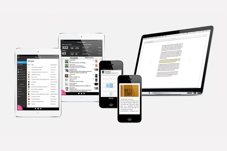 www.dotdotdot.me Social Reading App