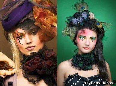 Описание образа костюма и прически