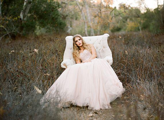 Soft, pink fall wedding inspiration