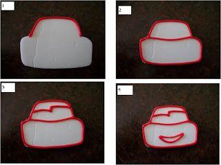 A Punto Nieve: GALLETITAS THE CARS Y TORTA