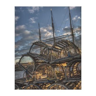 Lobster traps, Lunenburg, NS