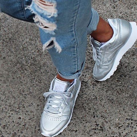 Reebok Classic Silver
