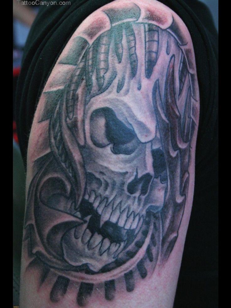 28 best large skull tattoo design images on pinterest skull tattoo design skull tattoos and. Black Bedroom Furniture Sets. Home Design Ideas
