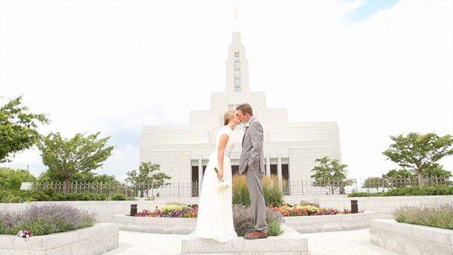 Same-day edit wedding video. #draper #temple #wedding #videography #wozyfilms #utah #wedding video