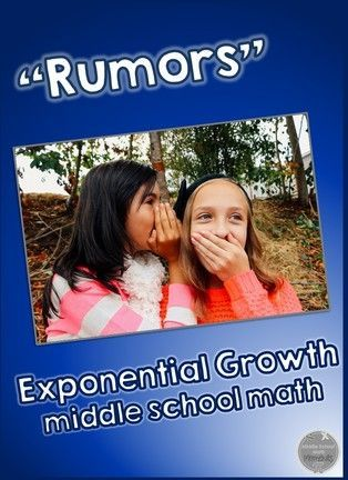 Rumors and exponential growth