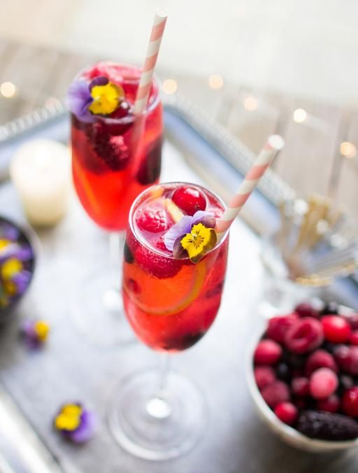 A brilliant drink for party-goers not on the booze, this refreshing cocktail looks and tastes fantastic