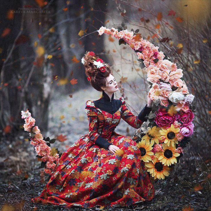 Margarita Kareva è una fotografa russa specializzata in fotografia artistica e ritratti. Nei suoi scatti le favole diventano realtà.