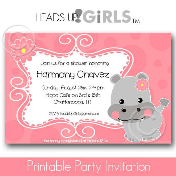 24 Best Hippo Baby Shower Images On Pinterest Baby Shower